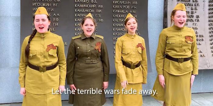 Russian Children Sang Manifesto Song Against War [Video]